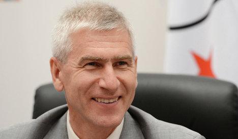 Первый вице-президент Международной федерации студенческого спорта (FISU) Олег Матыцин
