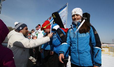 Екатерина Понеделко (крайняя справа)