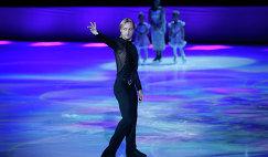 Евгений Плющенко выступает в качестве специально приглашенного гостя на чемпионате мира по фигурному катанию в Шанхае