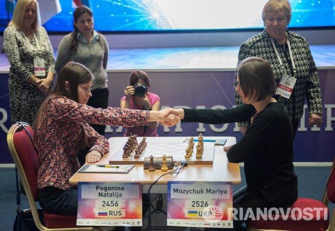 Мария Музычук (справа) и Наталья Погонина