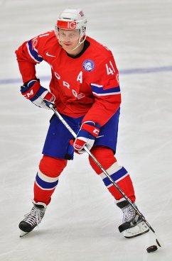 Форвард сборной Норвегии Патрик Торесен