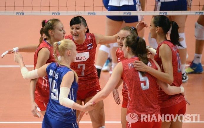 Женская сборная России по волейболу начинает выступление на Гран-при