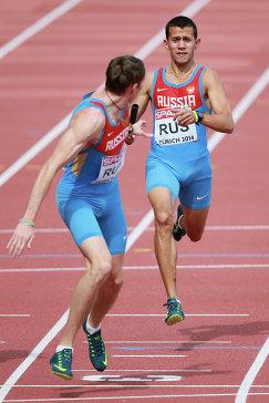 Российские спортсмены Павел Ивашко и Максим Дылдин (справа)