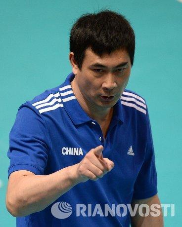 Главный тренер сборной Китая по волейболу Юкуан Чен