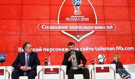 Виталий Мутко и Сергей Семак (слева направо)