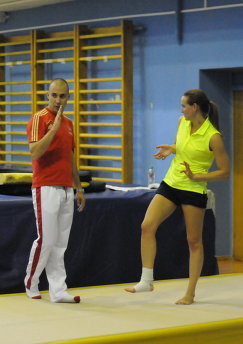 Глеб Гальперин и Мария Воробьева (слева направо)