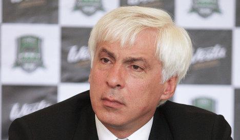 Генеральный директор футбольного клуба Краснодар Владимир Хашиг