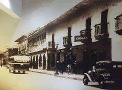 Фотообоии с изображением улицы в Кали в 1947 году