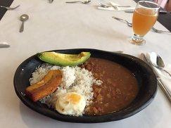 Колумбийское блюдо бандеха пайса