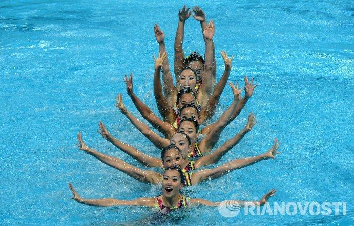 Синхронистки сборной Японии