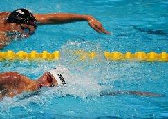 Александр Красных (Россия) на дистанции 400 м вольным стилем