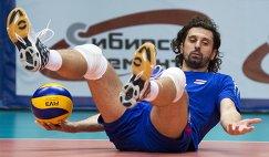 Связующий сборной России Александр Бутько