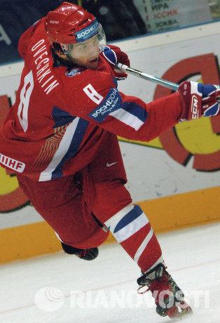 Российский хоккеист Александр Овечкин, архив/2006 год