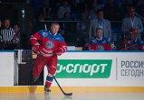 Рене Фазель, Вячеслав Фетисов (на первом плане), Александр Якушев и Владимир Лутченко (слева направо)