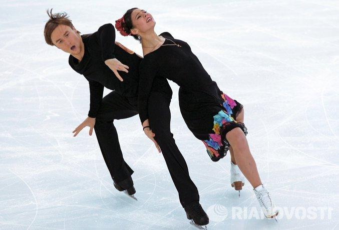 Руслан Жиганшин и Елена Ильиных