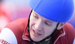 Спортсмен сборной России по шорт-треку Руслан Захаров