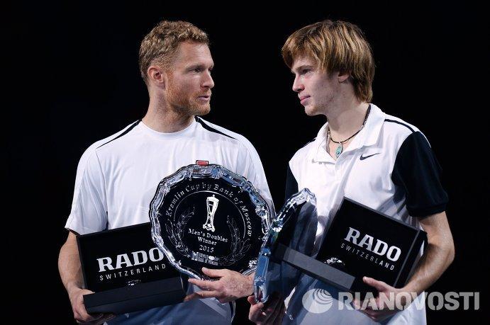 Дмитрий Турсунов и Андрей Рублев (слева направо)
