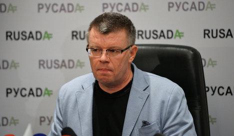 Исполнительный директор Национальной антидопинговой организации (РУСАДА) Никита Камаев