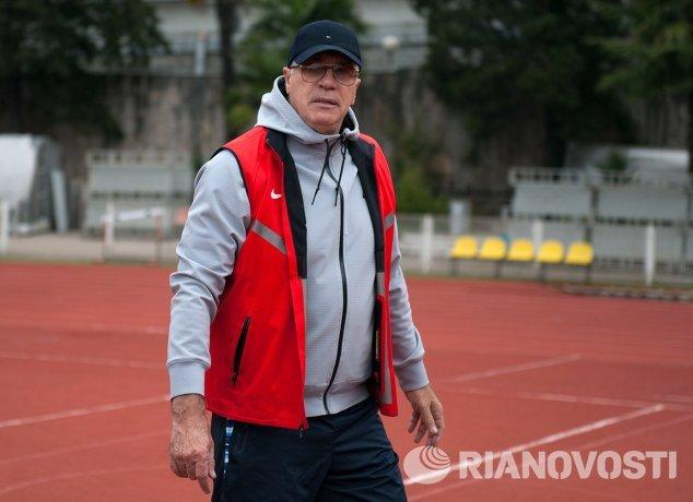 Тренер сборной России по легкой атлетике Александр Цыплаков