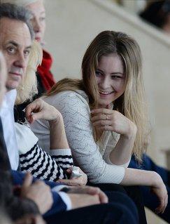Виталий Мутко и Юлия Липницкая