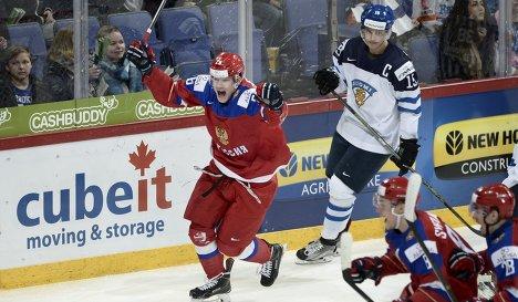 Нападающий молодежной сборной России по хоккею Егор Коршков