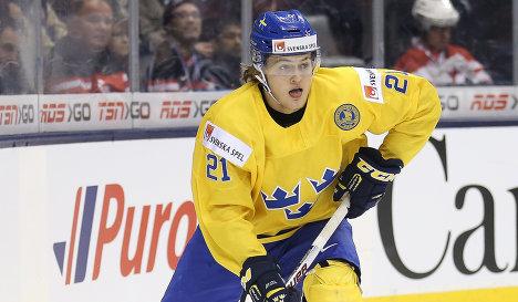 Форвард молодежной сборной Швеции по хоккею Вильям Нюландер