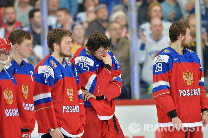 Когда и характера мало: россияне проиграли финнам в финале хоккейного МЧМ
