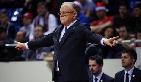 Главный тренер БК Анадолу Эфес Душан Ивкович