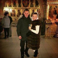 Люк Уилкшир с женой Кристиной