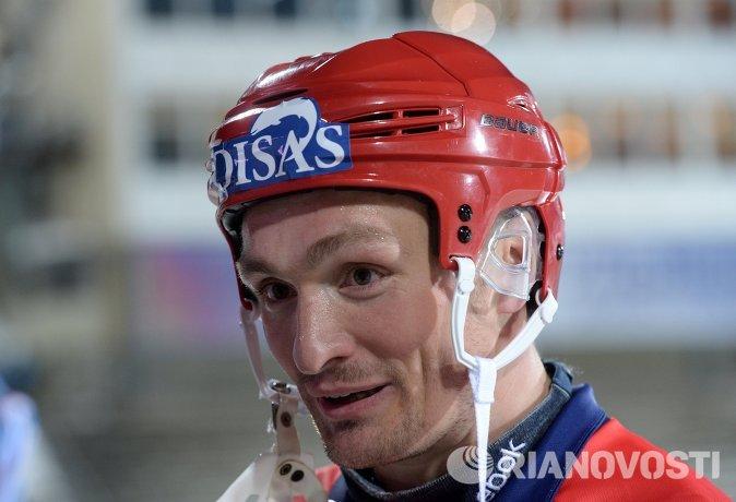 Игрок сборной России Евгений Иванушкин