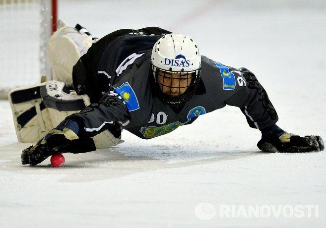 Вратарь сборной Казахстана Ильяз Хайрекишев