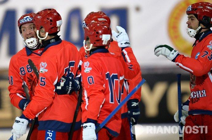 Сборная России по хоккею с мячом