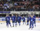 Хоккеисты Адмирала радуются победе