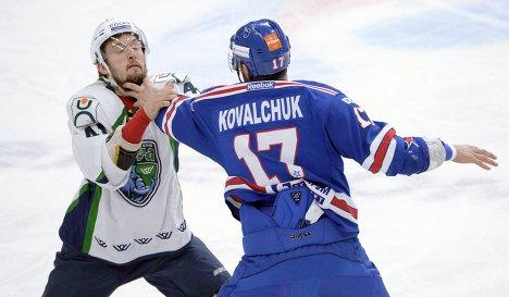 Евгений Орлов (слева) и Илья Ковальчук