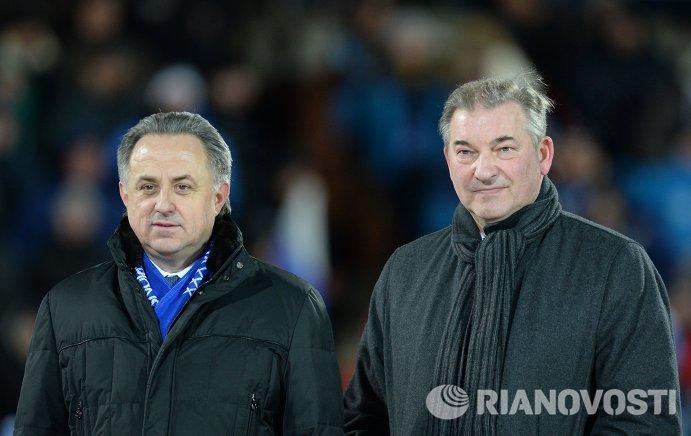 Виталий Мутко (слева) и Владислав Третьяк