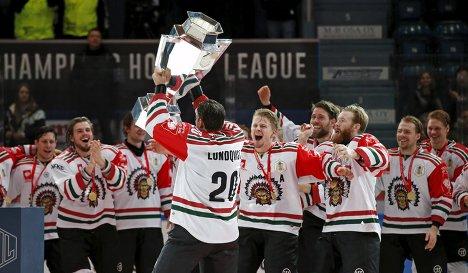 Хоккеисты шведской Фрелунды