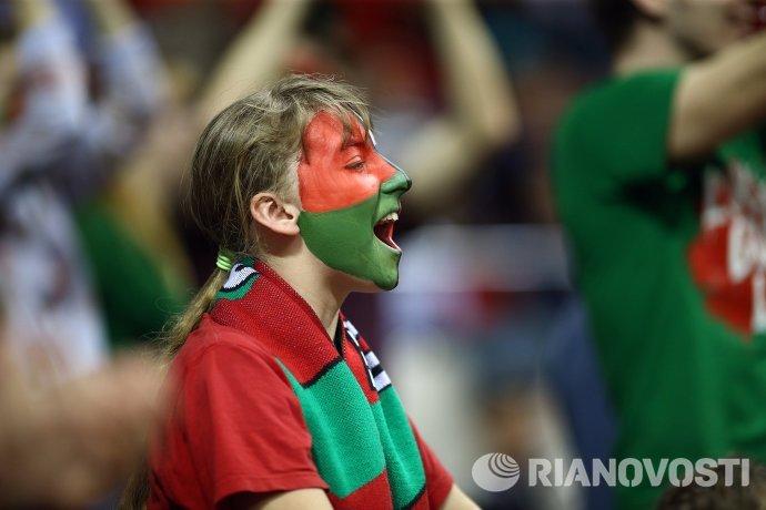 Болельщица ПБК Локомотив-Кубань
