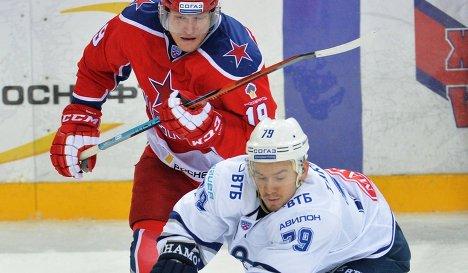 Михаил Юньков (слева) и Даниил Тарасов
