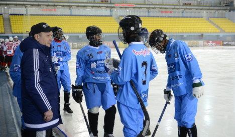Хоккеисты сборной Сомали