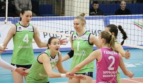 Волейболистки Заречья-Одинцово