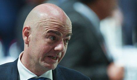 Генеральный секретарь УЕФА Джанни Инфантино