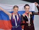 Мария Сотскова и Полина Цурская (слева направо)