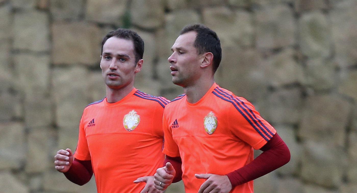 Роман Широков (слева) и Сергей Игнашевич