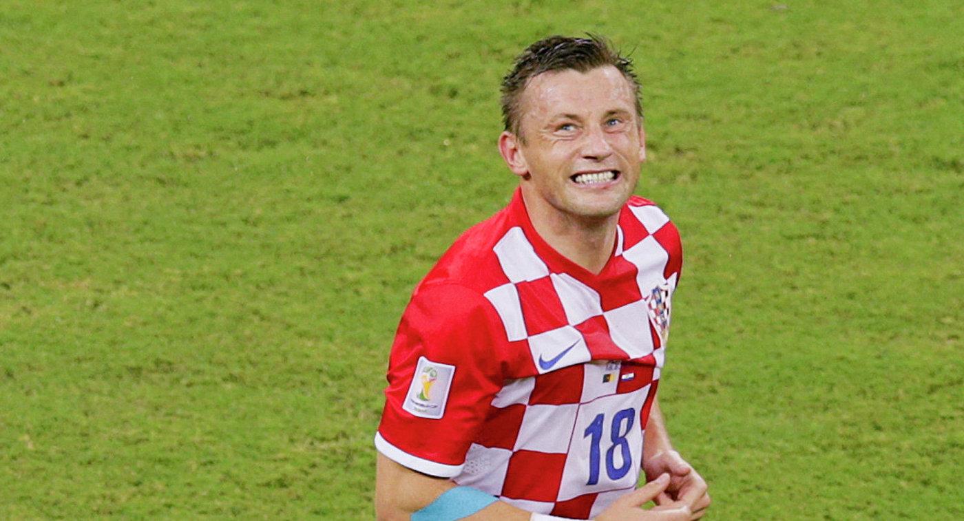 Форвард сборной Хорватии Ивица Олич
