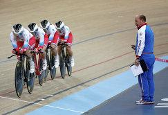 Российские велогонщицы на чемпионате мира по велоспорту