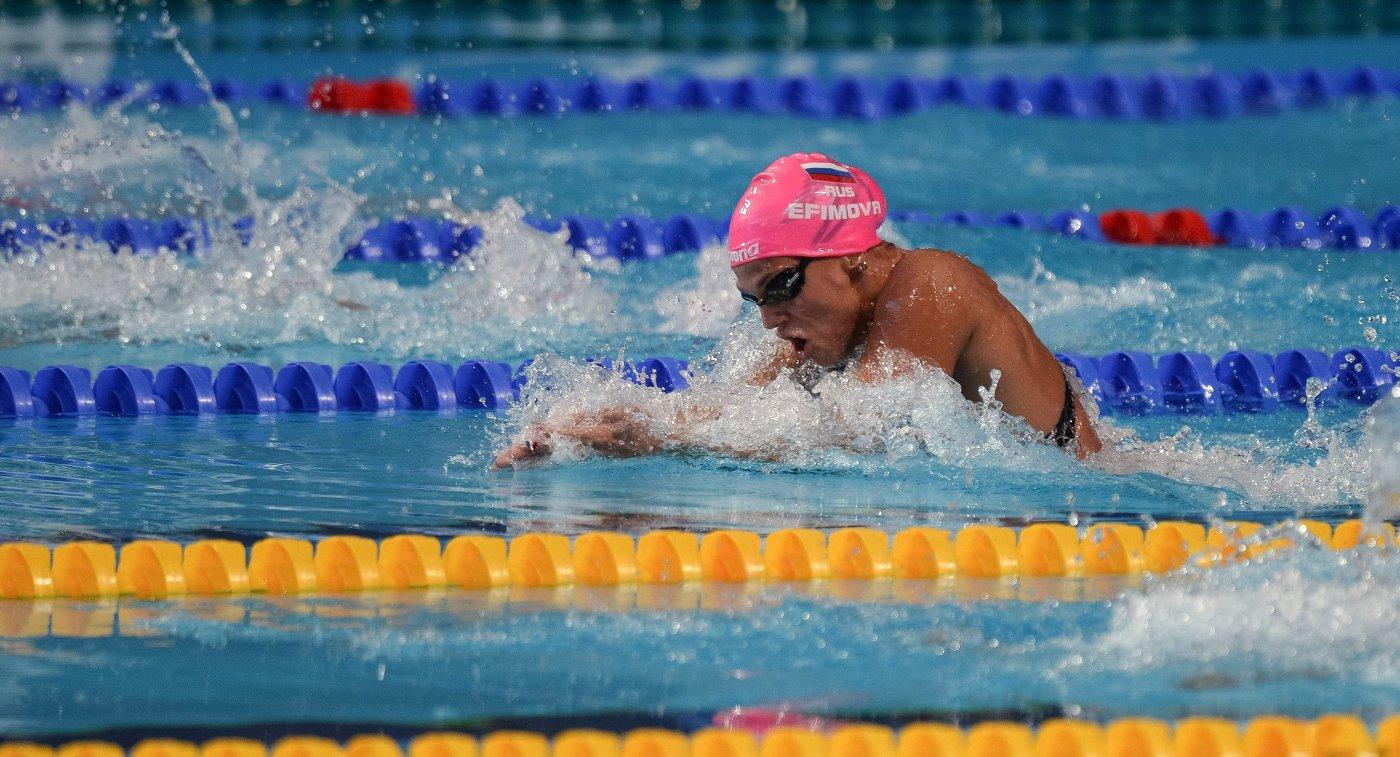 Морозов иЕфимова победили наЧР поплаванию