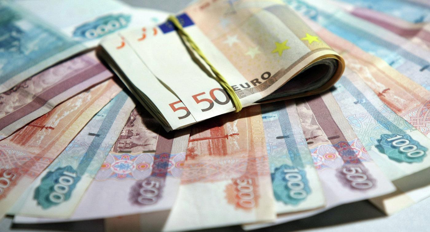 Рубли и евро