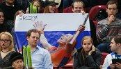 Болельщики сборной России по теннису
