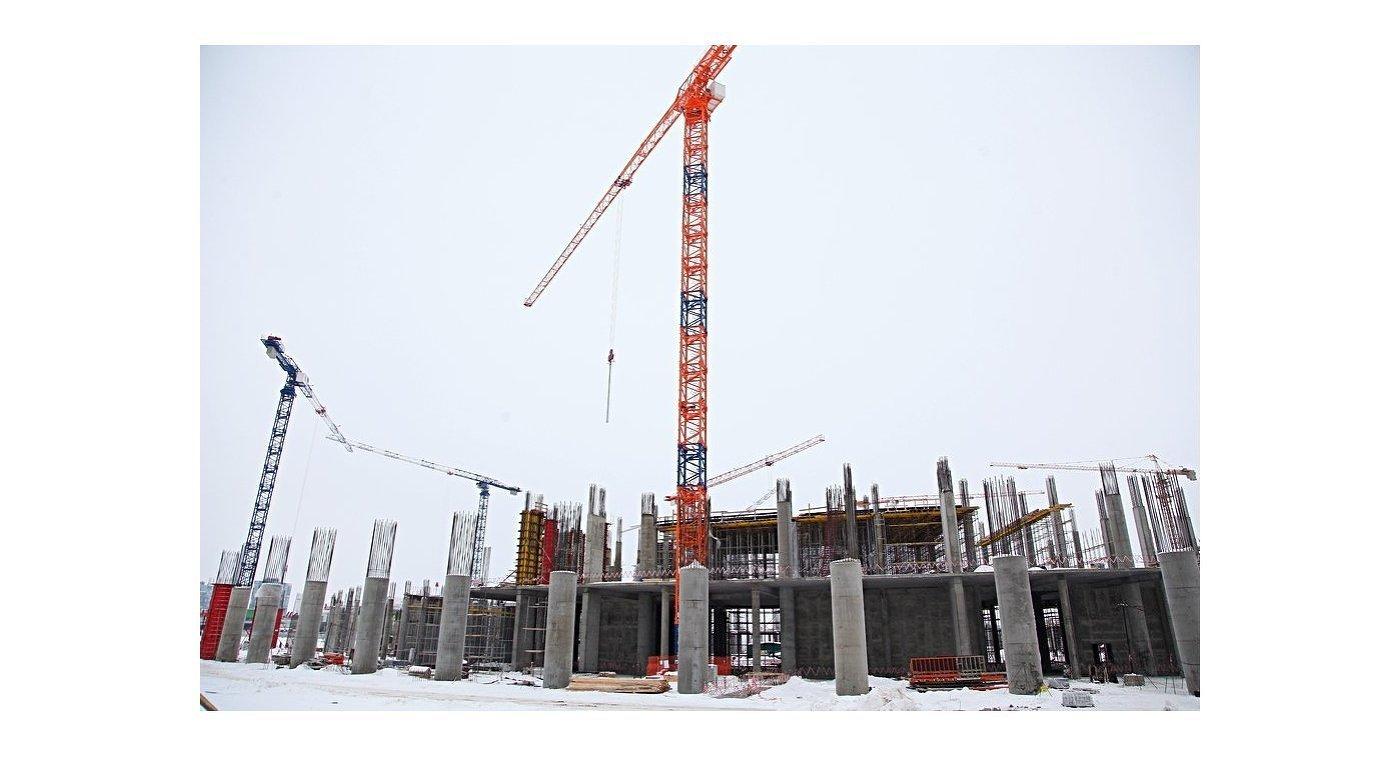 Строительство стадиона в Нижнем Новгороде к ЧМ-2018