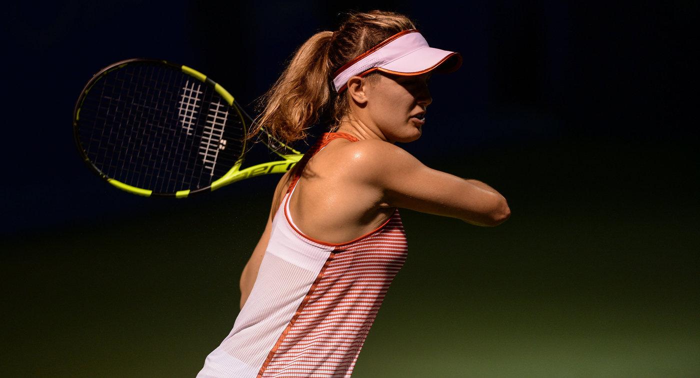 Канадская теннисистка Эжени Бушар